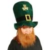 Plush Leprechaun Hat with Beard